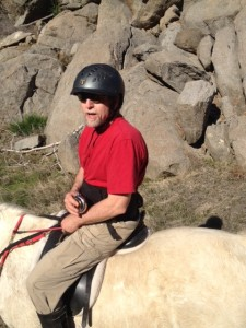Grateful my husband and I get to ride through tumbled hills of granite on the shores of Folsom Lake.